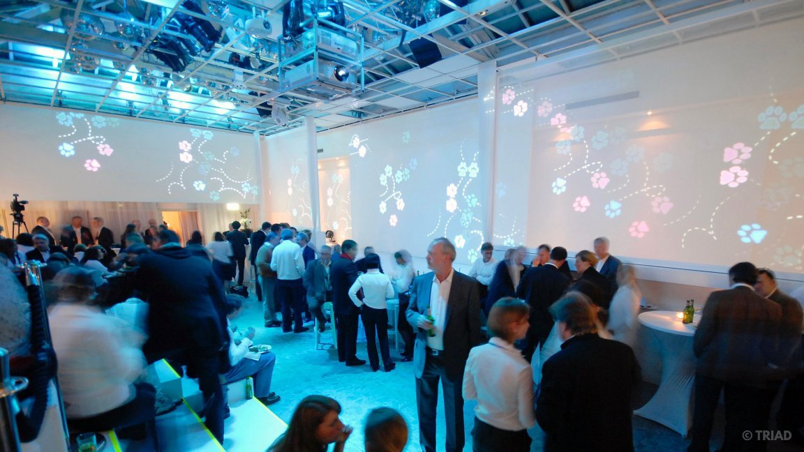 Stefan Helling Triad Villery Boch 260 Years Event Projection Screens Crowd